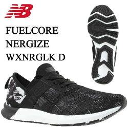 ニューバランス スニーカー レディース FUEL CORE NERGIZE W K WXNRGLK D new balance フィールコア ナージャイズ 黒 run