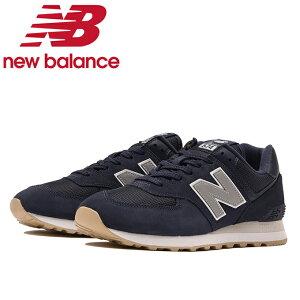 ニューバランス スニーカー メンズ レディース ML574STP D ネイビー new balance run