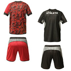 アスレタATHLETAサッカーウェア上下セットメンズレディースリバーシブル02297sc