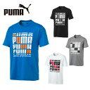 プーマ Tシャツ 半袖 メンズ MS リピートロゴTシャツ 843749 PUMA sc