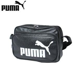 プーマ エナメルバッグ Mサイズ メンズ レディース トレーニング PUショルダー 075370 01 PUMA sw