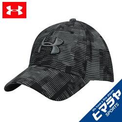 アンダーアーマー キャップ 帽子 メンズ UAプリントブリッツィング3.0 トレーニング ゴルフ MEN 1305038 002 UNDER ARMOUR sw