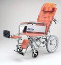 NDH-15 日進医療器介助用車椅子 リクライニング式スチール製