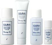 《メイク落とし+洗顔+化粧水+美容オイル》SQUINA(スクウィナ) トライアルセット《10日分》
