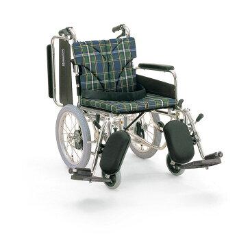 カワムラサイクルKA816-40(38・42)ELB-LOアルミ製介助用車椅子