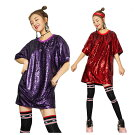 ダンス衣装スパンコールtシャツ半袖ステージ衣装チーム団体ダンス衣装ヒップホップ大人ジュニア舞台衣装文化祭学園祭クラブHIPHOP・DANCE個性的コスチュームパーティーグッズ