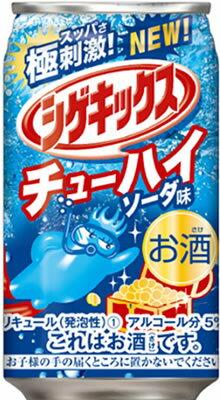 シゲキックスチューハイソーダ味350ml×24本