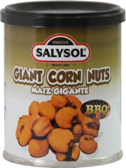 スペインからスナック缶【SALYSOL】ジャイアントコーン 30g【HLS_DU】