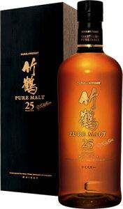 限られた方だけが堪能できる、至福の味わいです【アサヒ】竹鶴 25年 ピュアモルト700ml(年間...