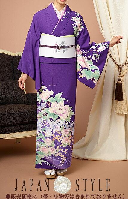 ジャパンスタイル(Japan Style)仕立て上がり洗える着物 訪問着 kimonoJL-3:作務衣と甚平 和専門店 ひめか