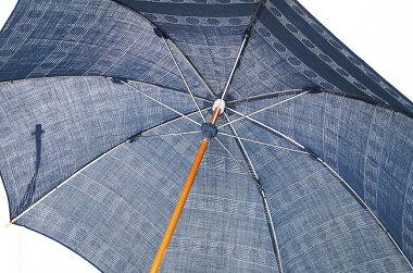 日傘近江の麻刺し子日本製本数限定【対応】【母の日傘】【日傘レディース】【日傘女性】【日傘ロング】【傘晴雨】【日傘レース】