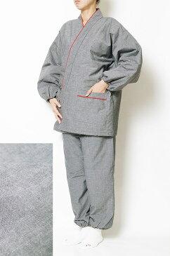作務衣 冬用 日本製 キルト中綿入り 女性作務衣 綿100% テイジンウォーマル使用 M/L 作務衣 女性 レディース あったか 還暦 母の日ギフト 婦人