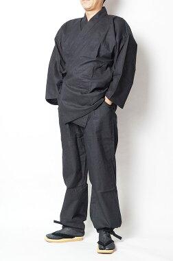 作務衣メンズ四季作務衣-上質作務衣(さむえ)綿100%S/M/L/LL通年向き生地作務衣男性紳士部屋着還暦敬老の日