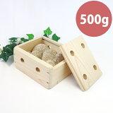 【お風呂用】姫川薬石500g(国産檜箱入り)進物・贈答品に最適な温浴ギフト