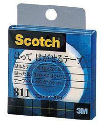 スリーエム『スコッチ貼ってはがせるテープ(811-1-12C)』