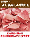 宮崎県産 お米豚モモ切り落とし500g【冷凍】【生活 応援 福袋】【段ボール発送】 3