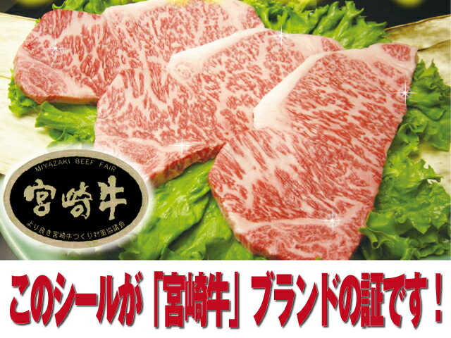 【冷凍】宮崎牛サーロインステーキ