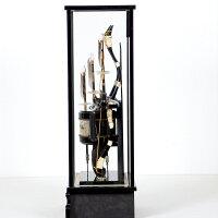破魔弓【極上登竜20号】彫金竜龍シルバー正月飾り破魔矢送料無料