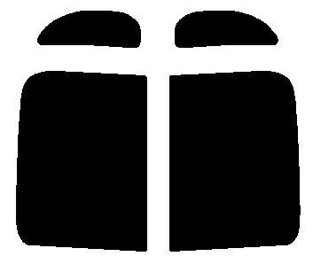 送料無料●リヤーサイドガラスのみ ダイハツ ムーブラテ ムーヴラテ L550S・L560S カット済みカーフィルム ハードコート
