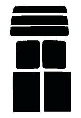 ハイゼット S32#V・S33#V リヤーガラス、サイドガラス 別色指定可能 ★ カット済みカーフィ...