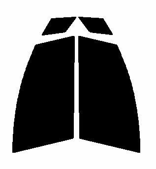 送料無料★ 運転席、助手席 マツダ プレマシー CREW・CR3W カット済みカーフィルム カラーハードコート