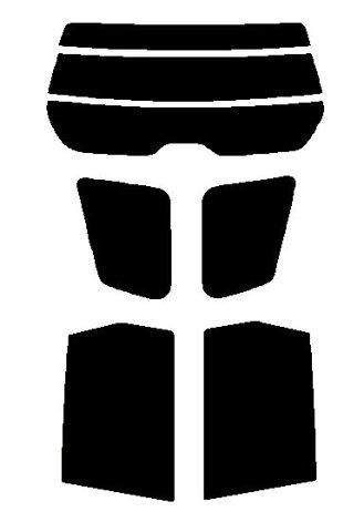 送料無料●簡単ハードコート フォレスター SH5 カット済みカーフィルム リヤーセット
