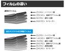 送料無料●リヤーガラス、サイドガラス、別色指定可能2層構造フィルム トヨタ セルシオ UCF10・UCF11 カット済みカーフィルム ハードコート リヤーセット 38ミクロン 簡単ハードコート 2