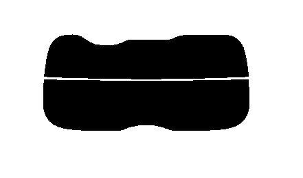 送料無料●2層構造フィルム リヤーガラスのみ トヨタ ヴォクシー (VOXY) ZRR80G・ZRR80W・ZRR85G・ZRR85W・ZWR80G カット済みカーフィルム ハードコート 38ミクロン画像