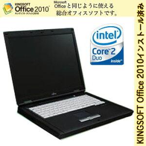 高性能Core2Duo搭載ノートPC!【リサイクルノートPC】1月24日入荷!【送料無料】【訳あり:キー...