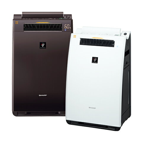 SHARP シャーププラズマクラスター加湿空気清浄機KI-FX-55-W/-T:日の出ショッピングサイト