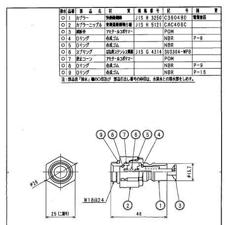 TABUCHI タブチフラット用カプラーセットSP1100N-K1