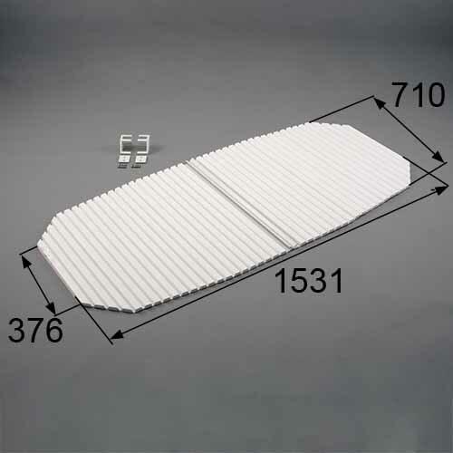 【送料無料】トステム 浴槽巻きフタ(フックセット付き)(切欠型) RMBX005