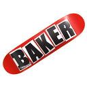 【ベーカー デッキ】BAKER Deck BRAND LOGO BLACK 7.88x31.25