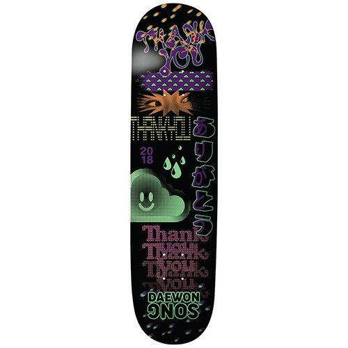 パーツ, デッキ  7.75 Thank You Skateboards Deck DAEWON SONG FLY