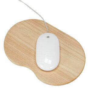 ヒノキのマウスパッド。無機質なパソコン周りにどうぞ。マウスパット
