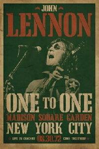 ジョン・レノン One To One Concert/ポスター フレーム付
