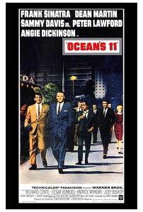 オーシャンと十一人の仲間 OCEAN'S11 映画ポスター(シアターサイズ)/フレーム付