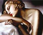 タマラ・ド・レンピッカ アートポスター50cm×40cm/The Sleeper アートフレーム付