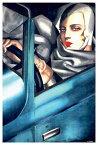 タマラ・ド・レンピッカ アートプリント/Self Portrait アートフレーム付 Tamara de Lempicka