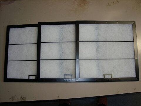 換気扇フィルター・レンジフードフィルター 専用枠 3枚セット サイズ 横297×縦330 サンウェーブ、クリナップ、富士工業 対応品 他社サイズ C5