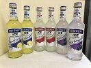 大人気スミノフカクテル飲み比べ4種6本セット(スミノフアイス2本、グリーンアップル2本、レモネード、ワイルドグレープ)