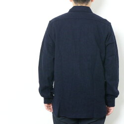 BUZZRICKSON'SバズリクソンズChiefPettyOfficers,BlueFlannelShirtsPATCH