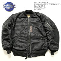 BUZZRICKSON'SバズリクソンズWILLIAMGIBSONCOLLECTIONBLACKMA-11st(REGULAR)