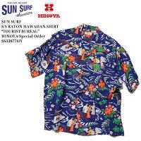 "SUNSURFサンサーフS/SRAYONALOHASHIRT""TOURISTBUREAU""HINOYASpecialOrder"