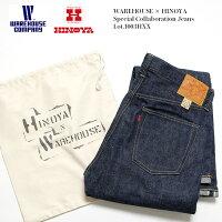 WAREHOUSE×HINOYAウエアハウス×ヒノヤLot.1003HXXSpecialCollaborationJeans