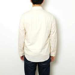 SUGARCANEシュガーケーンWHITECHAMBRAYL/SWORKSHIRT