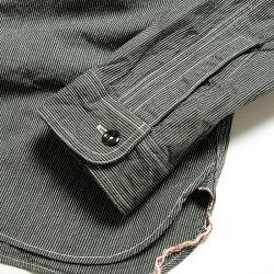 SUGARCANEシュガーケーンJEANCODEWORKSHIRTSC25511送料無料日本製ワークシャツジーンコードコードレーン平織りダブルエルボー