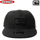 リバーサルキャップreversalREVERSALrvches19ss001ベースボールキャップメンズ帽子ブラックBLACK黒オーダーメイド缶バッジプレゼントスナップバック