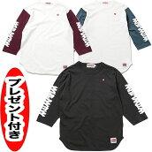 ANIMALIAアニマリア七分袖Tシャツ3/4GOLDWEST-7/10sleeve缶バッジプレゼント