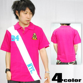 CLH (creating exclusive by CLH) short sleeve polo shirts and badges x line (5 colors) [4CE-18PL]